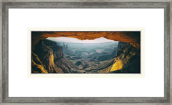 Mesa Arch Framed Print by Robert Fawcett