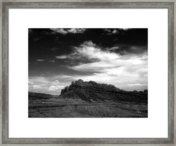 Mesa Sky Framed Print