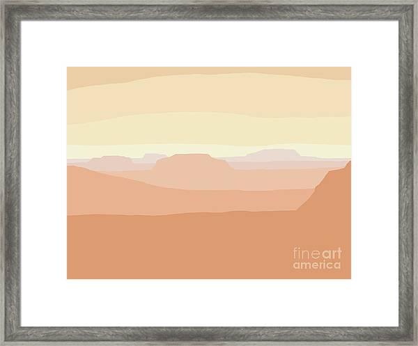 Mesa Valley Framed Print