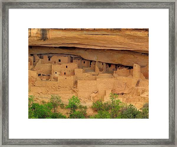 Mesa Verde 01 Framed Print