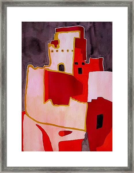 Mesa Verde Original Painting Sold Framed Print