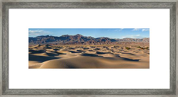 Mesquite Dunes Near Stove Pipe Wells - Death Valley by Mark Hammon