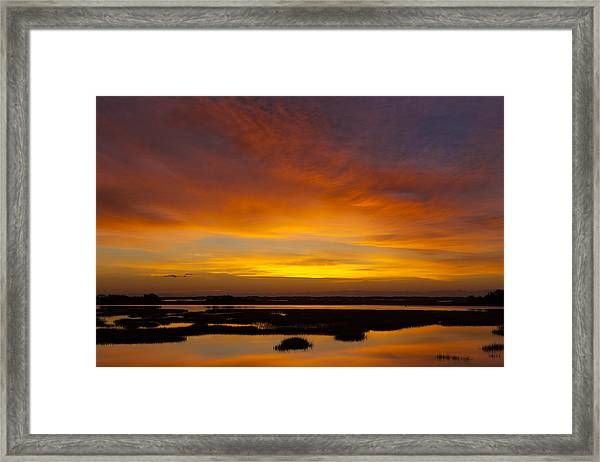 Message From The Universe  Sunrise Photograph By Jo Ann Tomaselli Framed Print