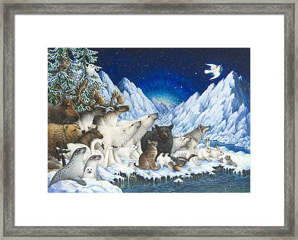 Message Of Peace Framed Print