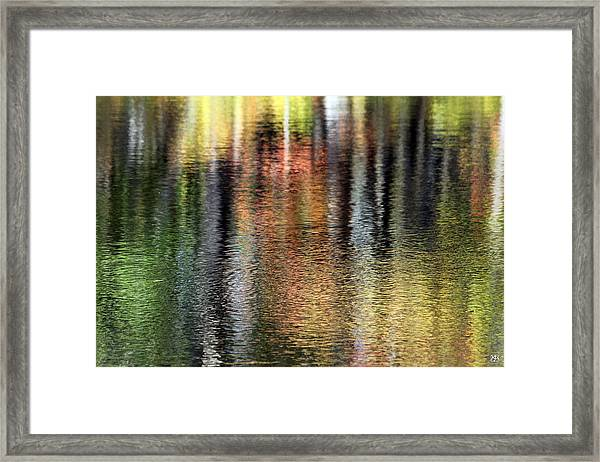 Messalonskee Reflection 2 Framed Print