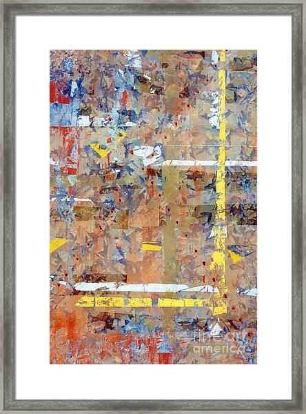 Messy Background Framed Print