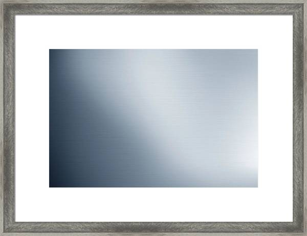 Metal Surface Framed Print by Imagedepotpro