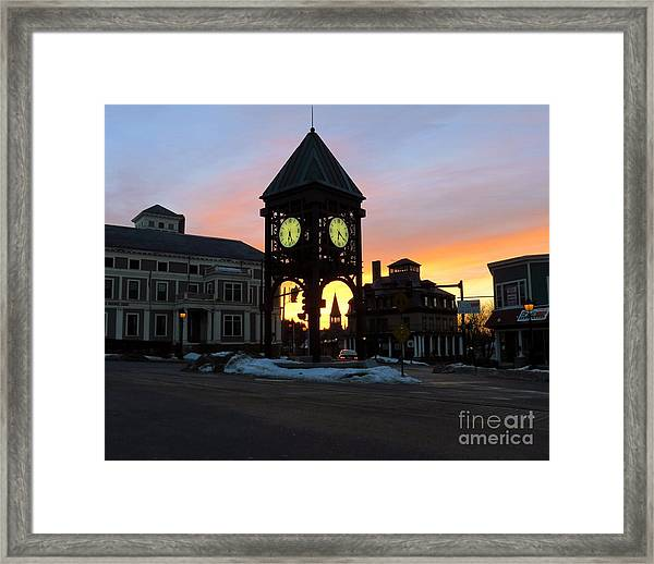 Methuen Square Framed Print