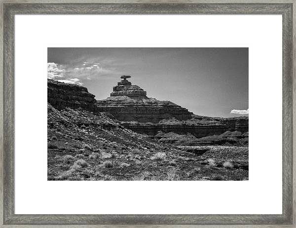 Mexican Hat Framed Print