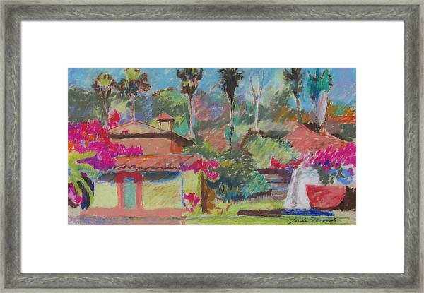 Mexican Spa Framed Print