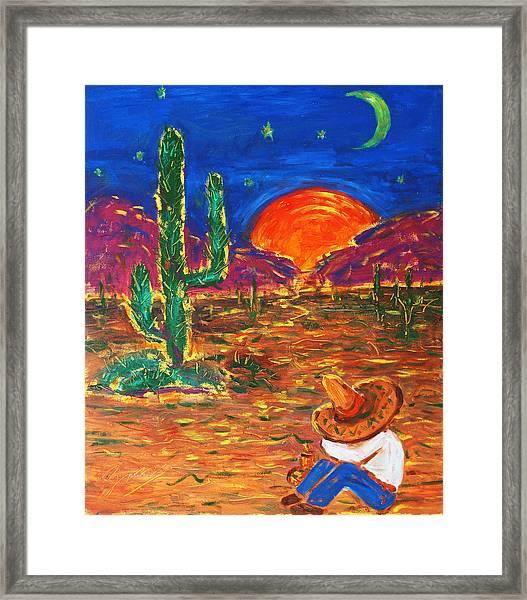 Mexico Impression IIi Framed Print