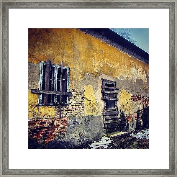 #mgmarts #allshots_may12_yellow Framed Print
