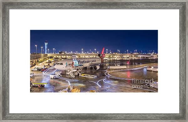 Miami Airport Framed Print