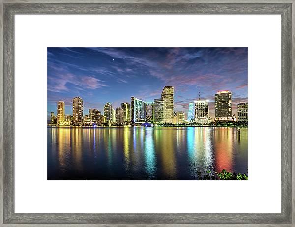 Miami Florida Framed Print