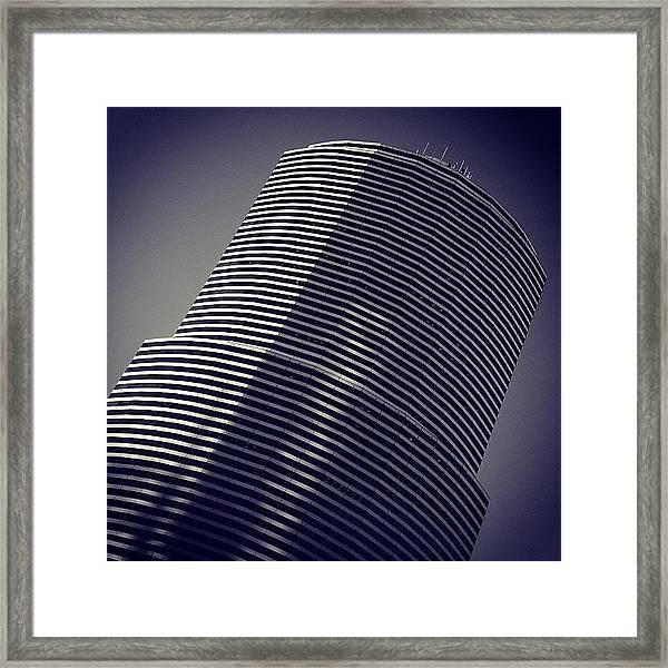 Miami Tower Bldg. - Miami ( 1983 - 1987 Framed Print