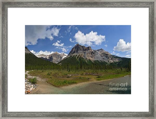 Michael Peak Framed Print
