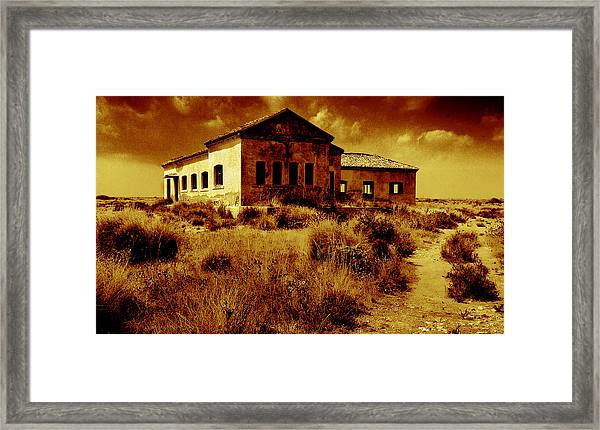 Midday Sanctuary Framed Print