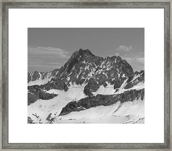 406429-e-middle Palisade Bw Framed Print