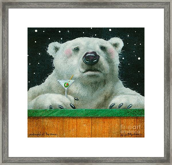 Midnight At The Oasis... Framed Print
