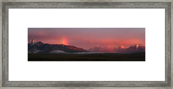 Midnight Light Framed Print