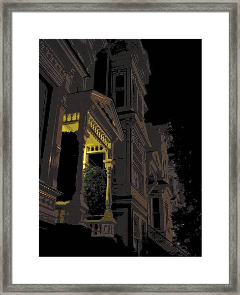 Midnight San Francisco Framed Print