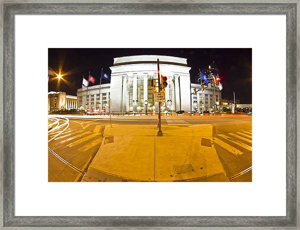 Midnight Train From Philly Framed Print