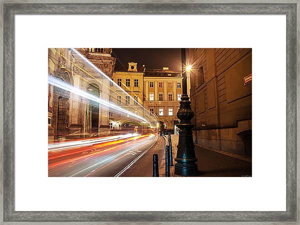 Midnight Train Framed Print