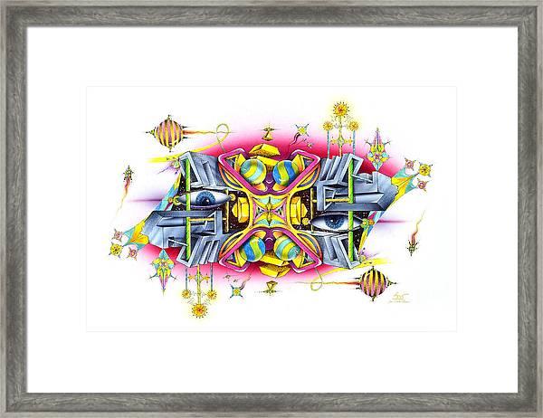 Midorian Framed Print