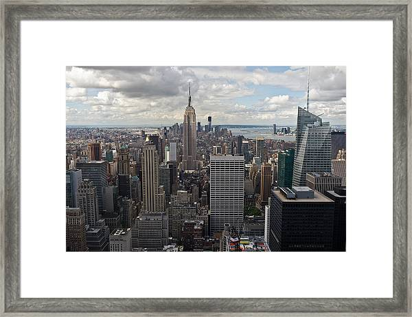 Midtown Manhattan Framed Print