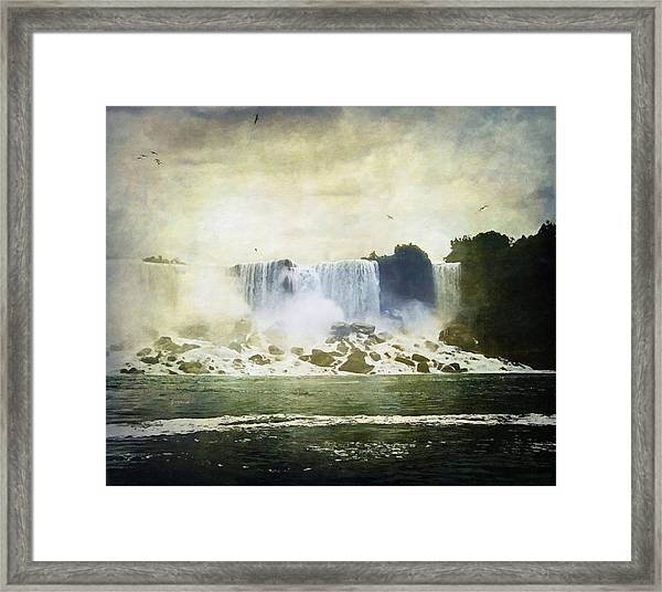 Mighty Niagara Framed Print