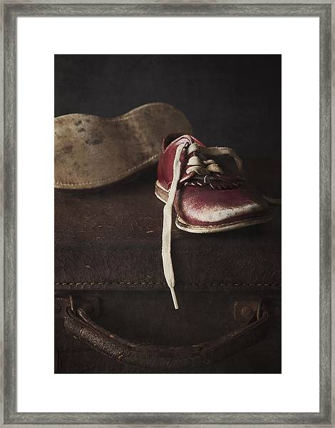 Miles And Years Framed Print