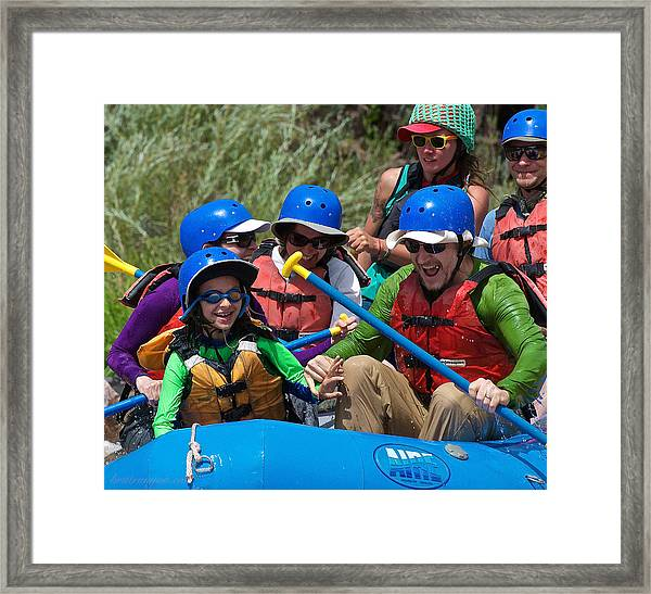 Framed Print featuring the photograph Miles Of Smiles by Britt Runyon