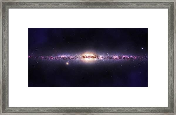 Milky Way Galaxy Framed Print