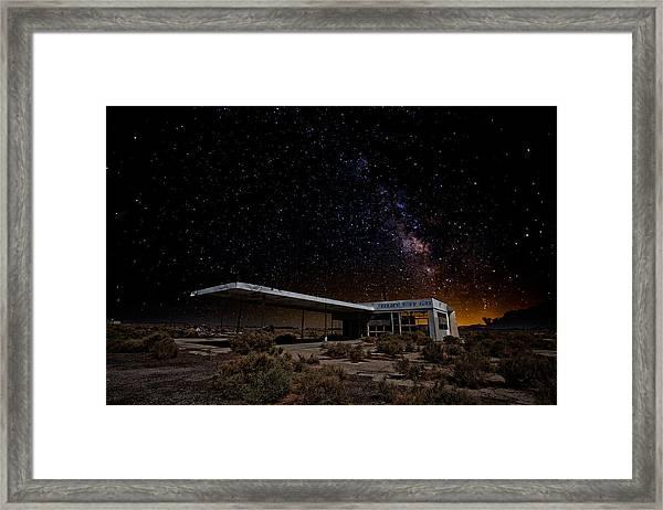 Milky Way Gas Framed Print