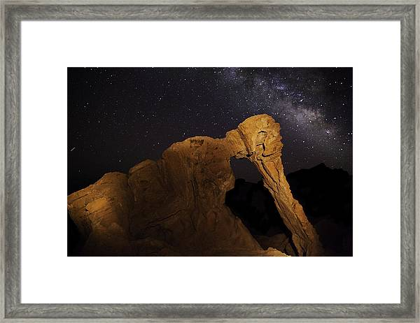 Milky Way Over The Elephant 3 Framed Print