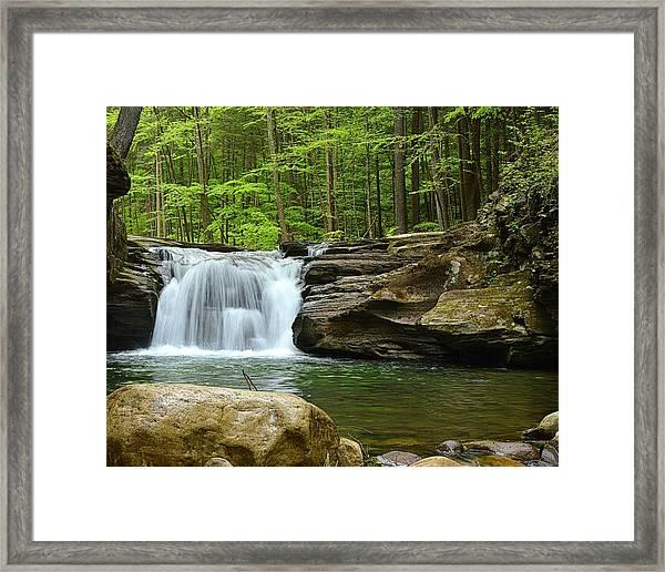 Mill Creek Falls #1 Framed Print