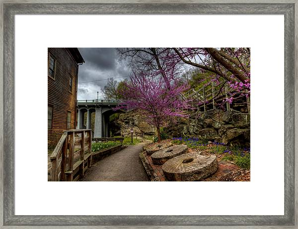 Mill Stones Framed Print