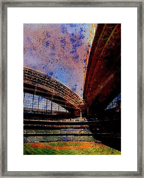 Miller Park 2 W Paint Framed Print