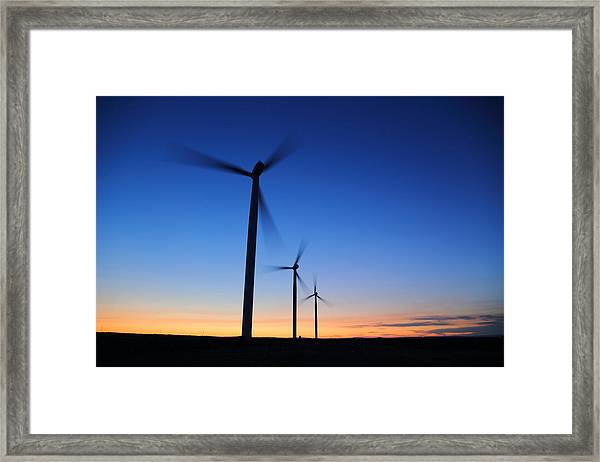 Milling Around Framed Print