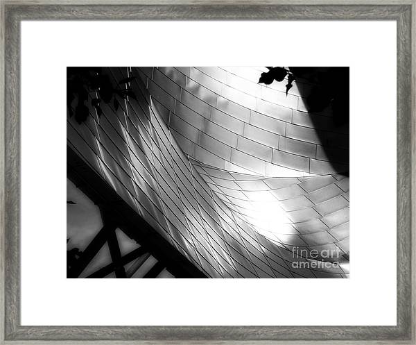 Millinuem Park Band Shell Framed Print