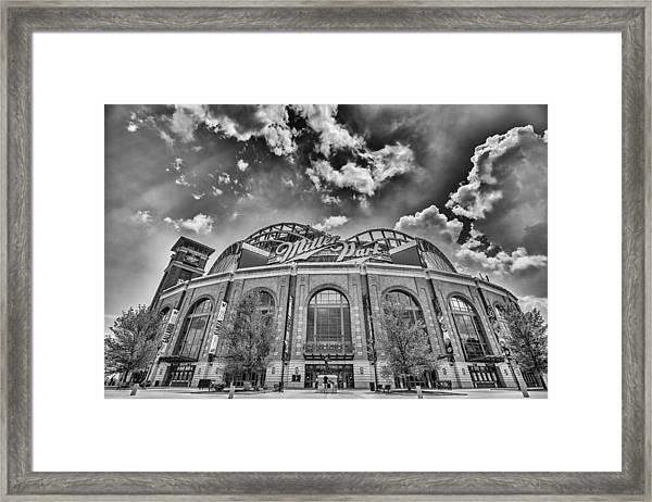 Milwaukee Brewers Miller Park 7 Framed Print