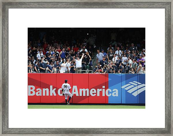 Milwaukee Brewers V New York Yankees Framed Print