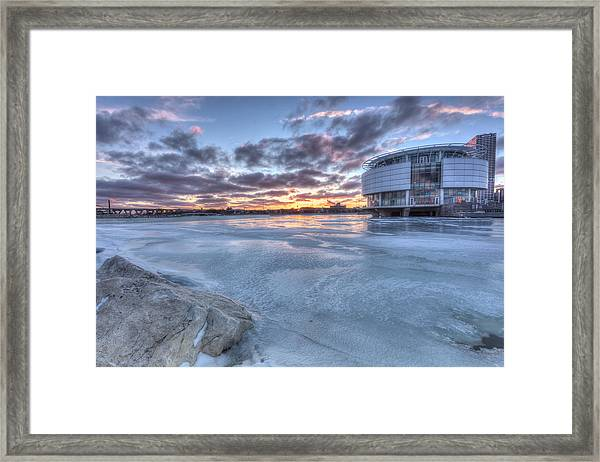 Milwaukee Sunset Framed Print