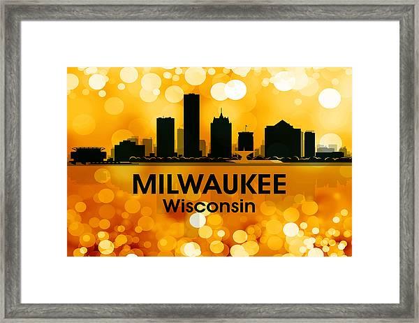 Milwaukee Wi 3 Framed Print