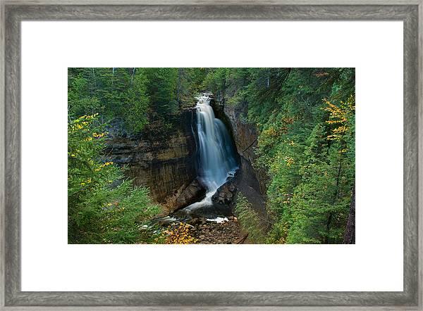 Miners Falls Framed Print