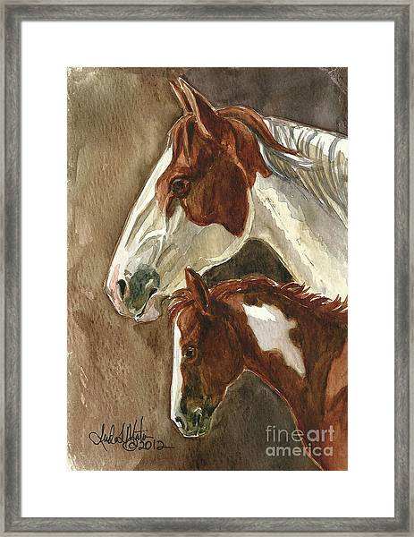 Mingo And Mimi Framed Print