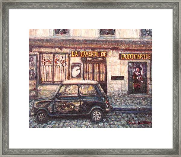 Mini De Montmartre Framed Print