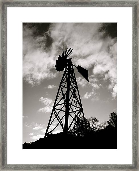 Mini Mill Framed Print