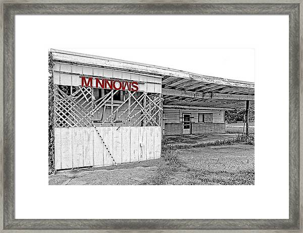 Minnow Shack Framed Print
