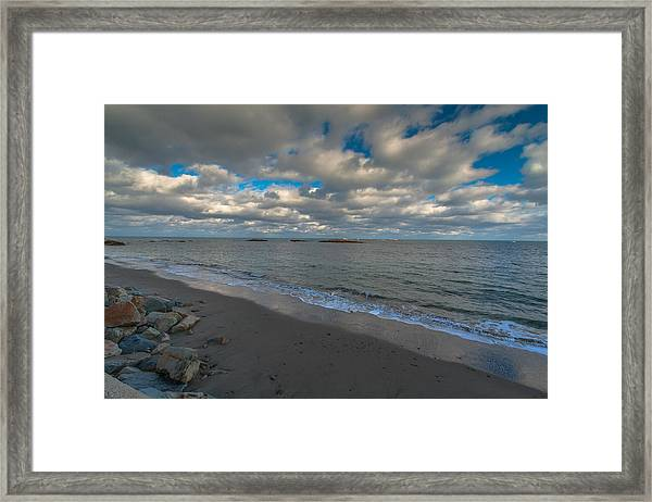 Minot Beach Framed Print